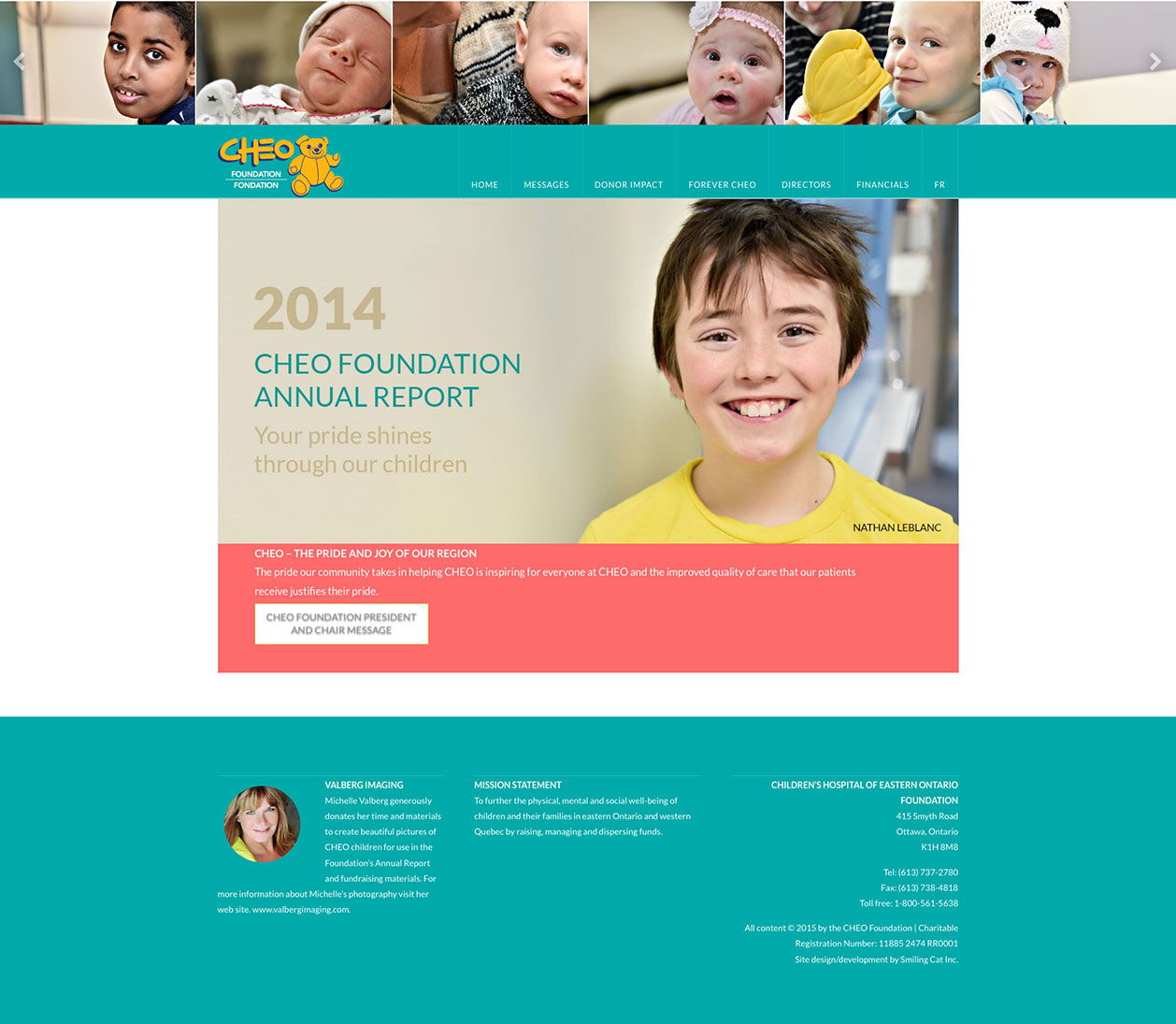 CHEO Foundation Annual Report